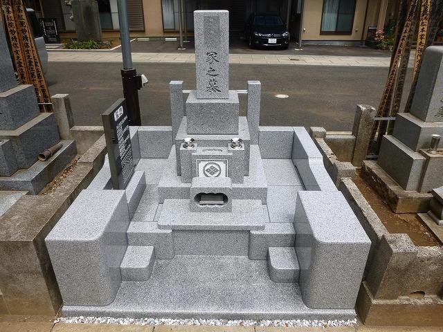 外柵フリフォーム 寺院墓地