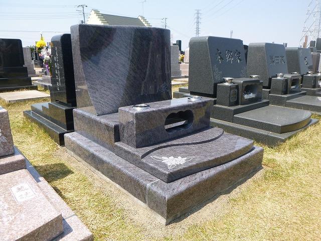 デザイン墓石 セメタリー 芝生墓所