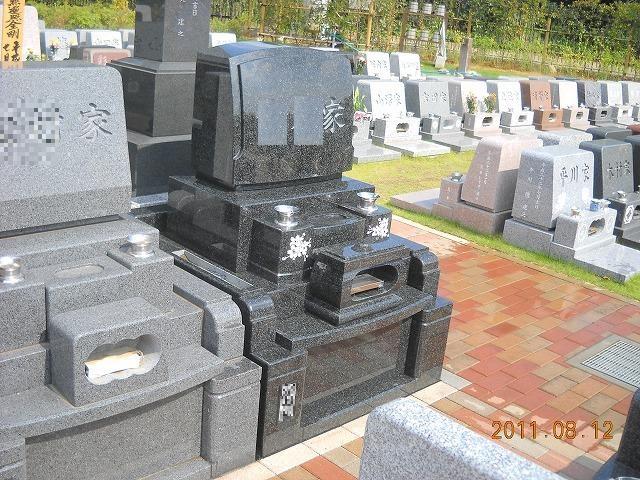 一般墓地 インド産御影石 M-1-H