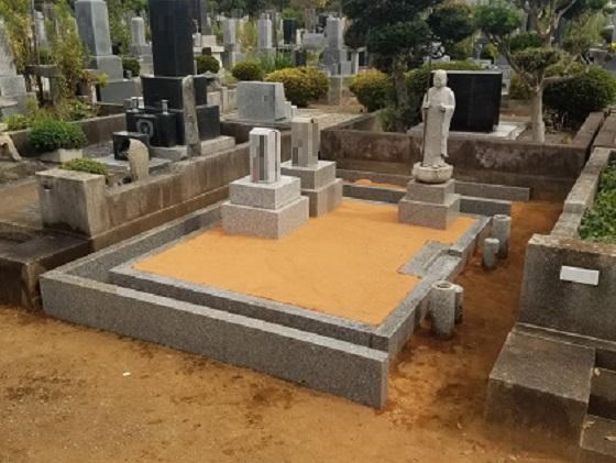 徳風会式吉相墓 石碑