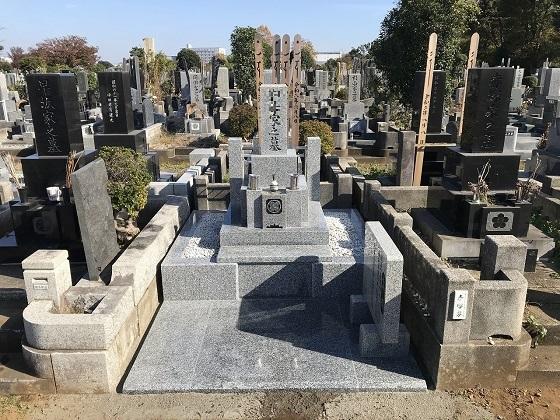 墓地移転工事 和型墓所 4�u