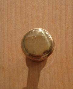 ゴールド仕上げ/ 真鍮organオリジナル取っ手・つまみ005