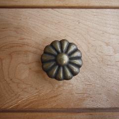 真鍮 フラワー(ハマギク)つまみ