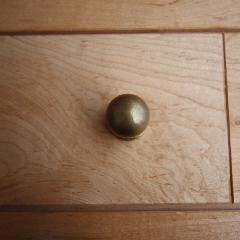 真鍮 ボールつまみ (L)
