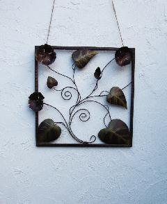 アイアン ウォールデコ(壁掛け飾り、アート)トゥラタイ