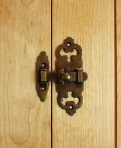 真鍮 錠前・ドアロック/SKYW031