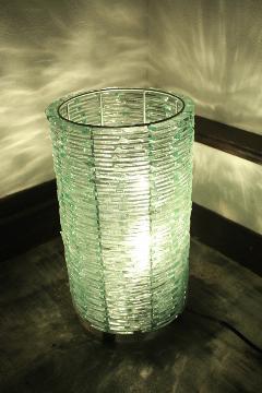 スタンドライト/照明・ランプ(ガラス・ロール 小)