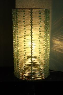 ウォールランプ/照明・ランプ(ガラス・ハーフパイプ)