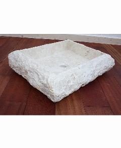 天然石洗面 (大理石)ホワイト系015