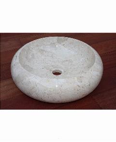 天然石洗面 (大理石)ホワイト系019