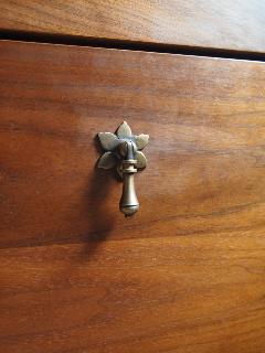 真鍮 フリコ 花びら 取っ手 小