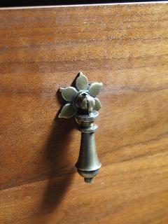真鍮 フリコ 花びら 取っ手 大