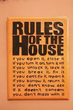Rules House A