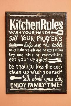 Rules Kitchen A