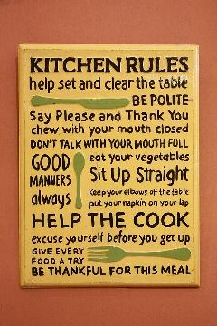 Rules Kitchen B