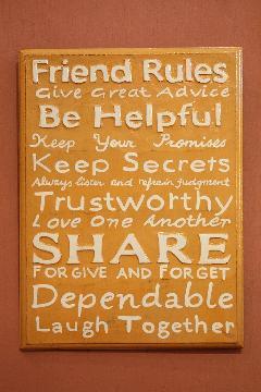 Rules Friend