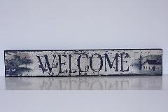 ウッドボード welcome