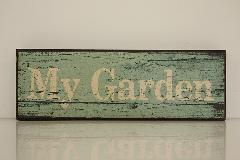ウッドボード my garden