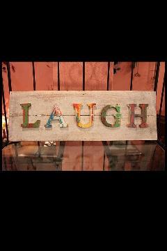 ウッドボード LAUGH