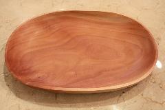 木の皿 楕円形 太
