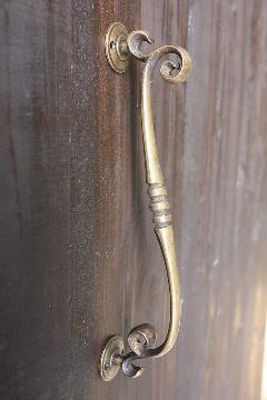真鍮 取っ手/C126(w245mm)