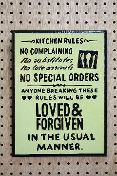 Rules Kitchen D