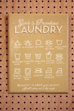 Rules Laundry B
