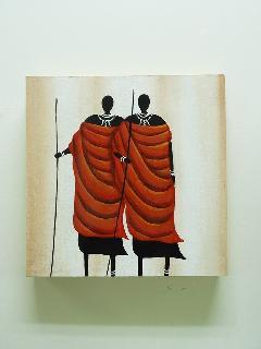 300×300 インテリアアート アフリカH (アートパネル インテリアパネル アート絵画)
