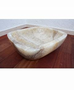 天然石洗面 (大理石)ベージュ系021