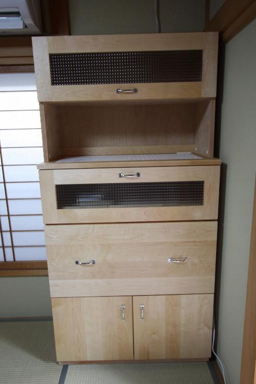 カバ桜医院用収納棚