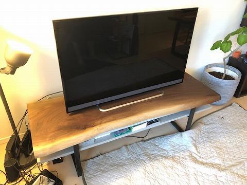 一枚板 ウォールナットTVボード
