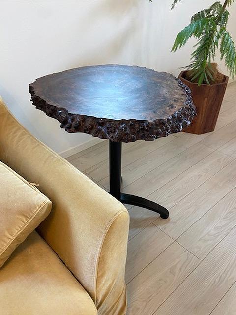 カフェテーブル クラロウォールナット