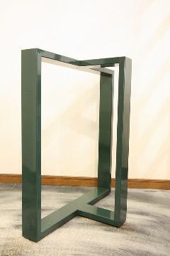 一枚板座卓用 オリジナルアイアンB脚 国産L0017