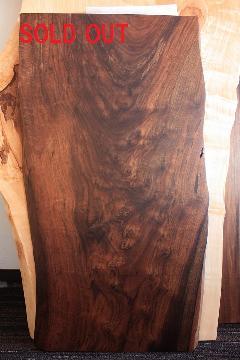 一枚板天板(クラロウォールナット)T0140
