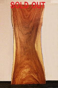 一枚板天板 (モンキーポッド)T0099