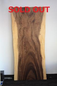一枚板天板 (モンキーポッド)T0126