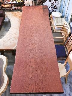 一枚板天板 (ブビンガ)T0608U