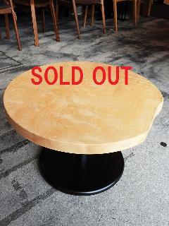 一枚板 ローテーブル (栃)T0398U
