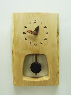 木の時計 005 (栃・トチ)