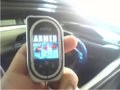 アクアにカーセキュリティVIPERとナビゲーションの取付例