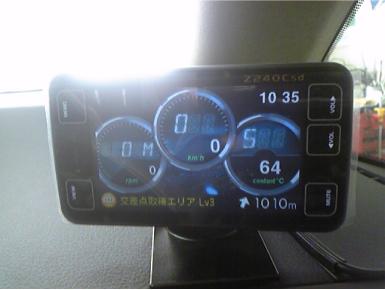 SAIにドライブレコーダーとレーダー探知機の取り付け例