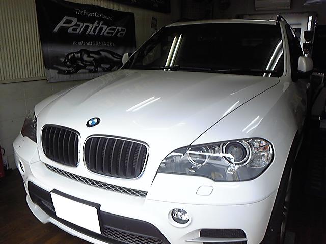 BMW X5にVIPER3903Vを取り付けしました。