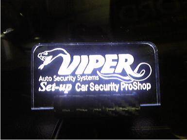 N-BOXにカーセキュリティVIPERの取り付け例