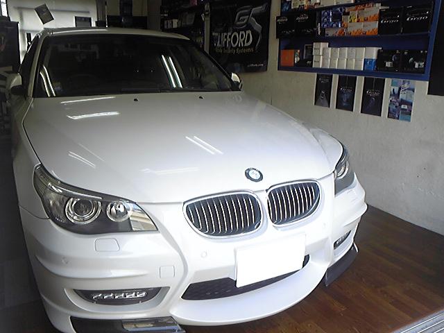 BMW530iのVIPER施工例
