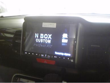 NボックスにBIG-X取り付け例