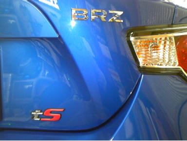 BRZのPanthera(パンテーラ)取り付け例