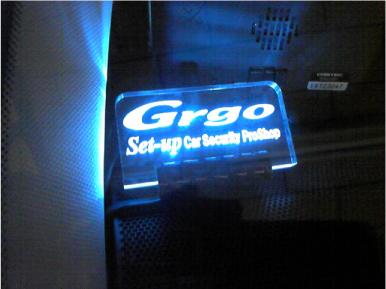 レガシィツーリングワゴンのGrgo取り付け例