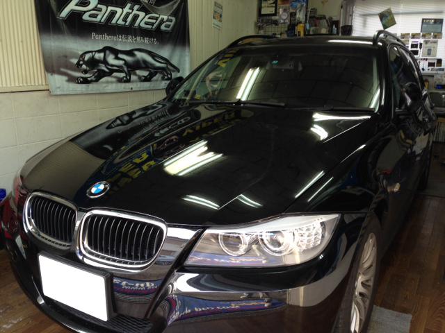 BMW320iツーリングのVIPER取り付け例