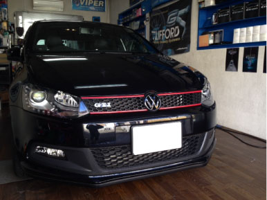 VW・POLOのHID取り付け例