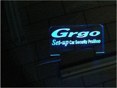 ハリアーのGrgo施工例